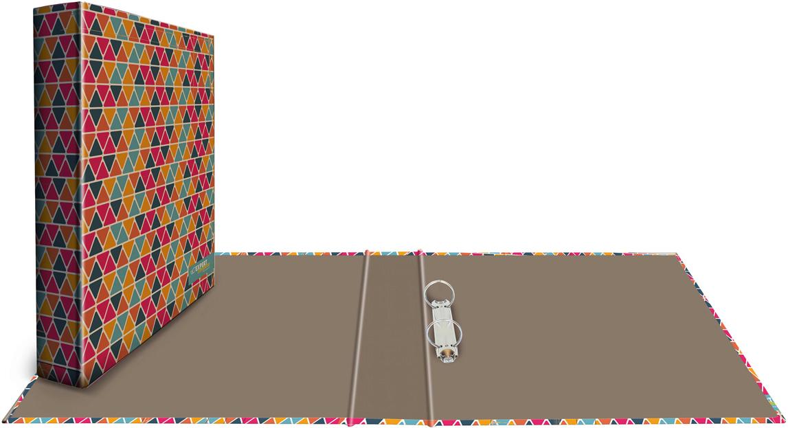 Expert Complete Папка-регистратор 2 кольца Крафт с дизайном Геометрия цены онлайн