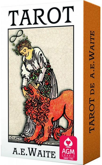 Карты Таро AGMuller A.E. Waite 1067012001 карты таро agmuller power animal