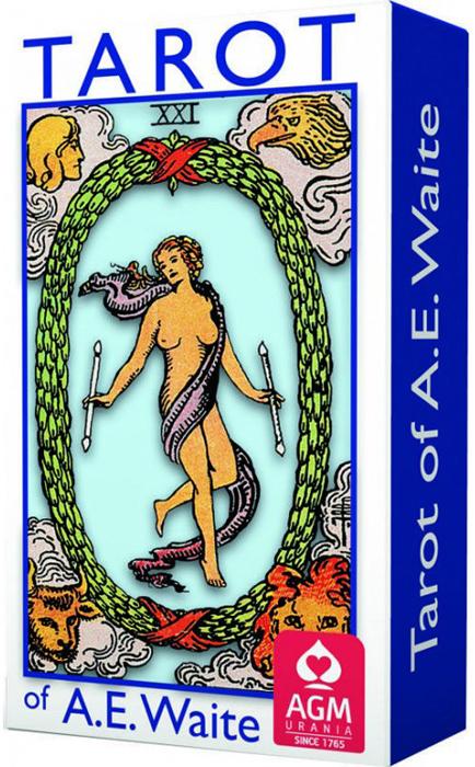 Карты Таро AGMuller A.E. Waite, карманный размер карты таро agmuller a e waite deluxe