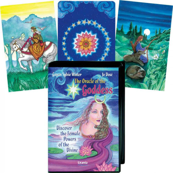 Карты Таро AGMuller Oracle Cards The Oracle Of The Goddess карты таро agmuller oracle cards the oracle of the goddess