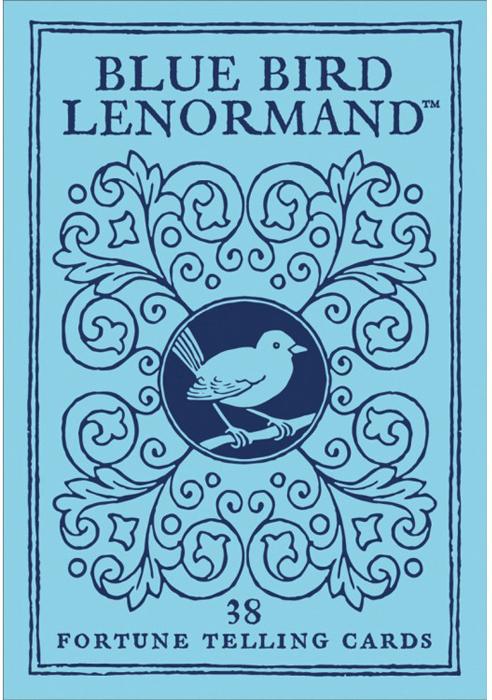 Карты Оракул U.S. Games Systems Oracle cards Blue Bird Lenormand ленорман м l oracle de lenormand оракул ленорман 36 карт книга