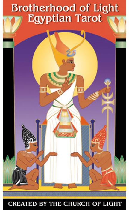 Карты Таро U.S. Games Systems Brotherhood of Light Egyptian Tarot карты таро u s games systems tarot cards african