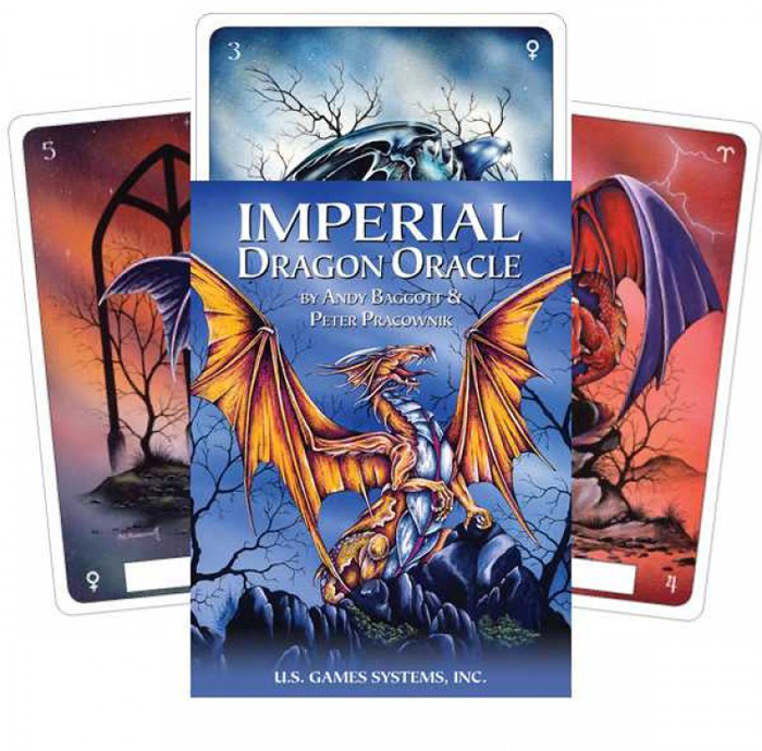 Карты Оракул U.S. Games Systems Oracle cards Imperial Dragon карты таро agmuller oracle cards the oracle of the goddess