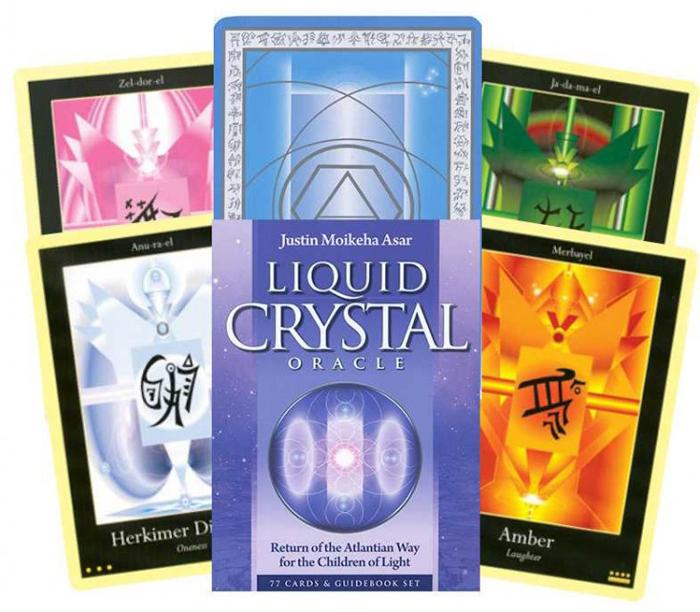 Карты Таро Blue Angel Liquid Crystal Oracle карты таро blue angel oracle of the unicorns