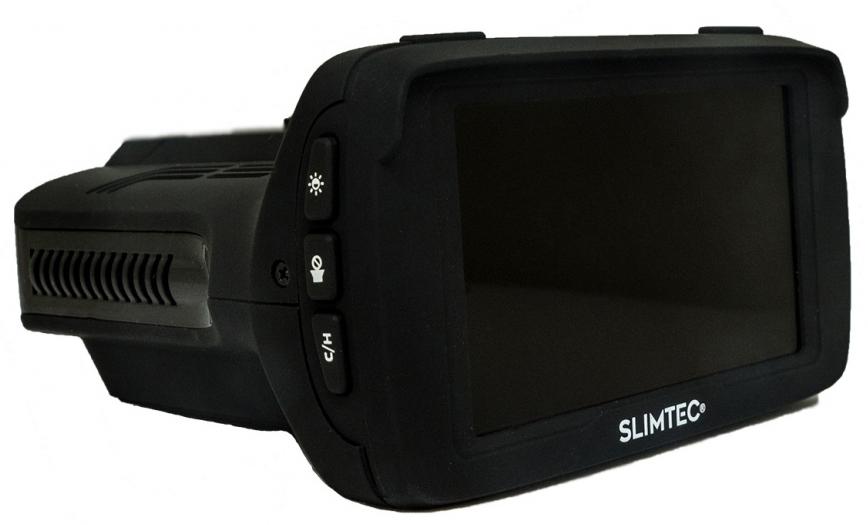 Видеорегистратор с радар-детектором Slimtec Hybrid X, цвет черный видеорегистратор slimtec hybrid x
