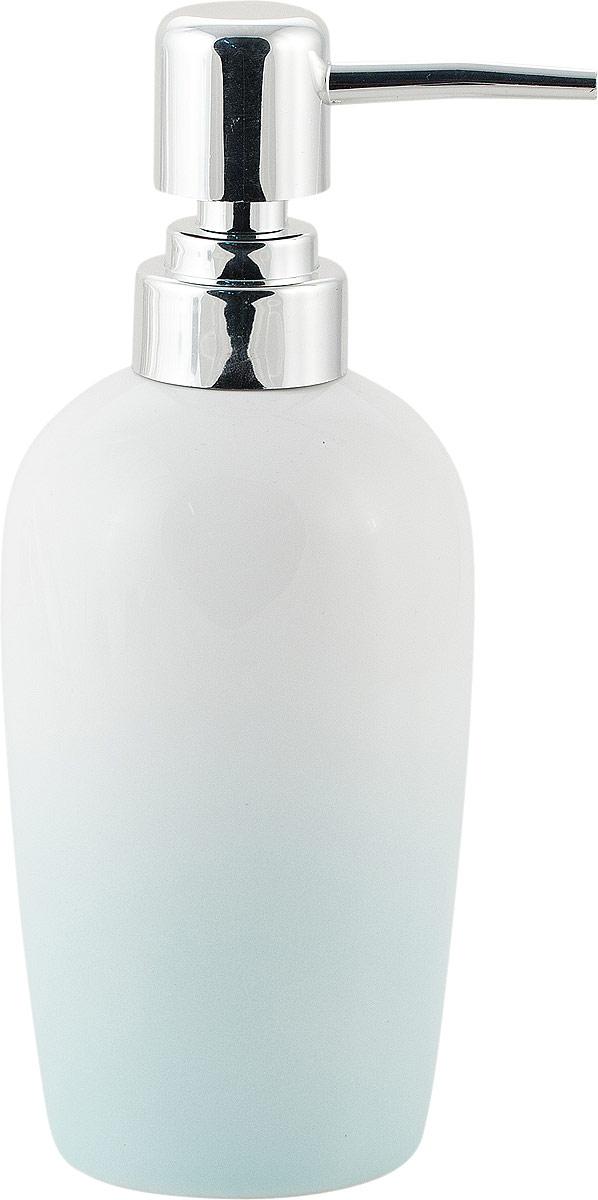 "Диспенсер для мыла Swensa ""Gradient"", цвет: голубой, 200 мл"