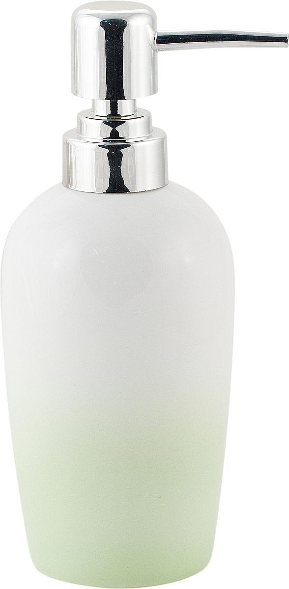 "Диспенсер для мыла Swensa ""Gradient"", цвет: зеленый, 200 мл"