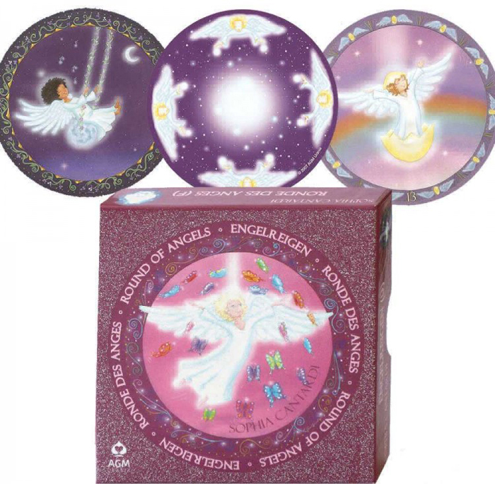 Карты Таро AGMuller Round of Angels карты таро agmuller oracle cards the oracle of the goddess