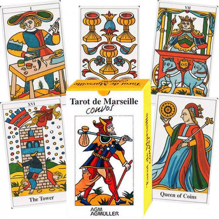 Карты Таро AGMuller Tarot de Marseille Convos