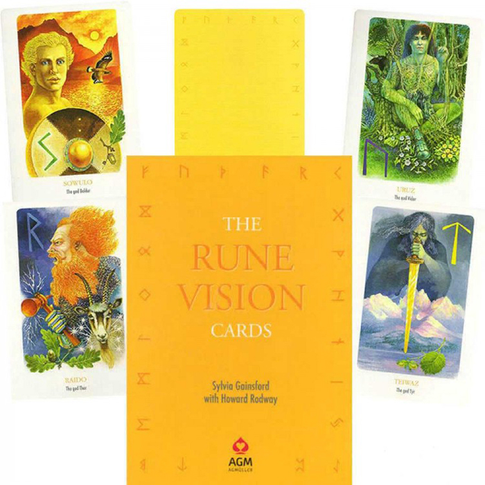 Карты Таро AGMuller Oracle Rune Vision карты таро agmuller oracle cards the oracle of the goddess