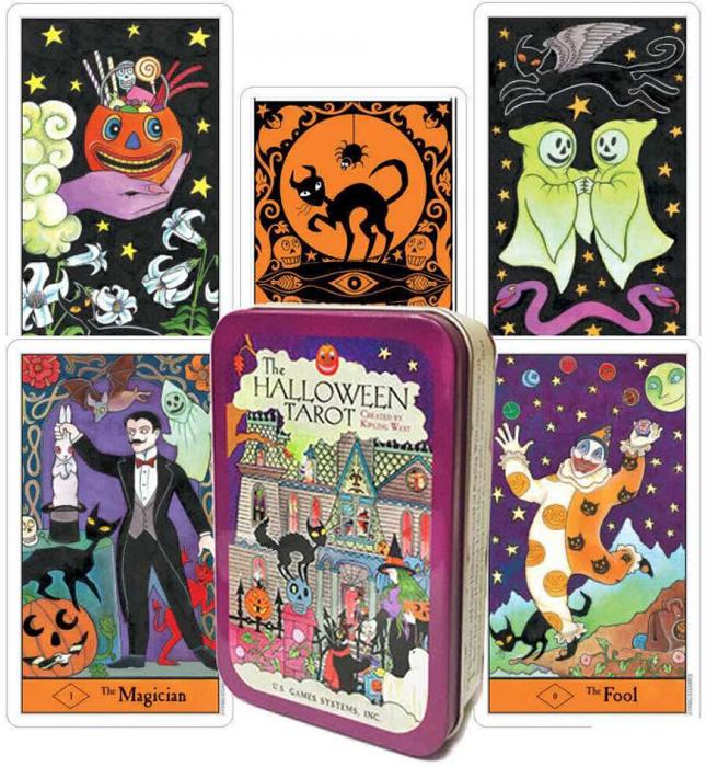 Фото - Карты Таро U.S. Games Systems Карты Halloween Tarot HAT78 карты таро u s games systems chinese tarot