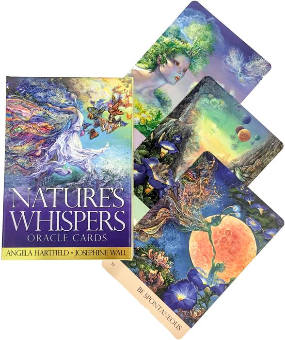 Карты Оракул Blue Angel Cards Nature's Whispers карты оракул blue angel oracle cards angels