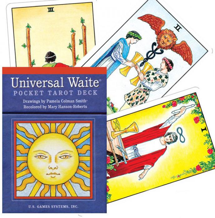 Карты Таро U.S. Games Systems Universal Waite Tarot цветовые карты pantong pantone gg1304