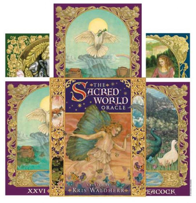 Карты Оракул U.S. Games Systems Oracle cards The Sacred WorldSWO44Оракул Священного Мира создан на основе потрясающих картин известной художницы Kris Waldherr. Эта колода воспевает красоту земли и разнообразие её обитателей — настоящих и мифических существ. Опираясь на мифологию и фольклор, эта колода является источником мудрых наставлений для всех, кто к ней обратится.
