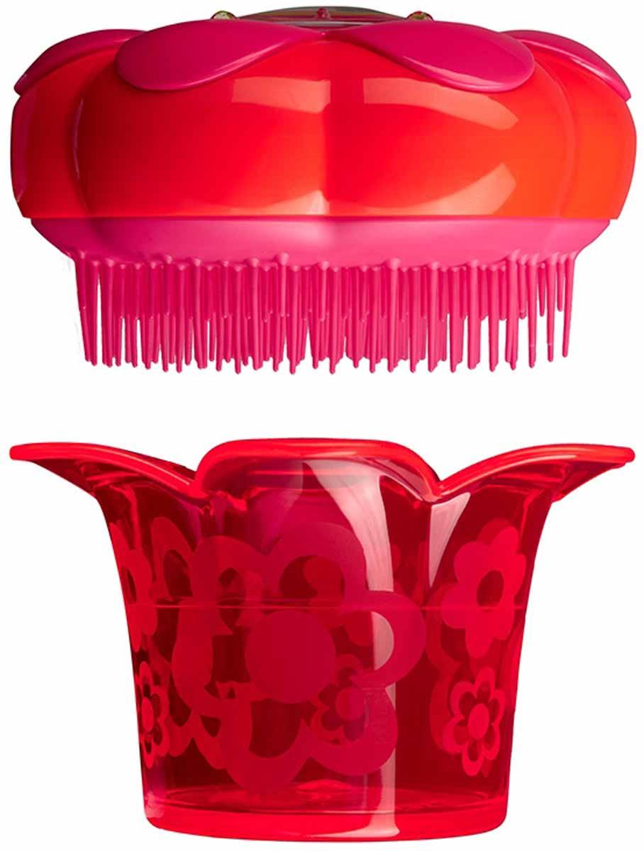 Расческа массажная Tangle Teezer Magic Flowerpot, цвет: красный