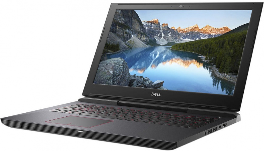 15.6 Игровой ноутбук Dell G5 5587 G515-7459, черный ноутбук asus gl703gm e5211 core i7 8750h 16gb 1tb 256gb ssd nv gtx1060 6gb 17 3 fullhd dos gun metal