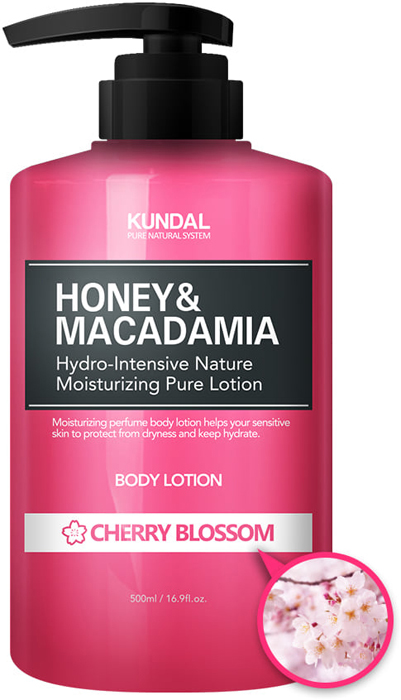 Лосьон для тела Kundal Honey & Makadamia Pure Body Lotion Cherry Blossom, 500 мл джемпер makadamia makadamia ma167ewvex42