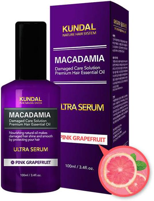 Сыворотка для волос Kundal Makadamia Ultra Serum Pink Grapefruit, 100 мл джемпер makadamia makadamia ma167ewvex42