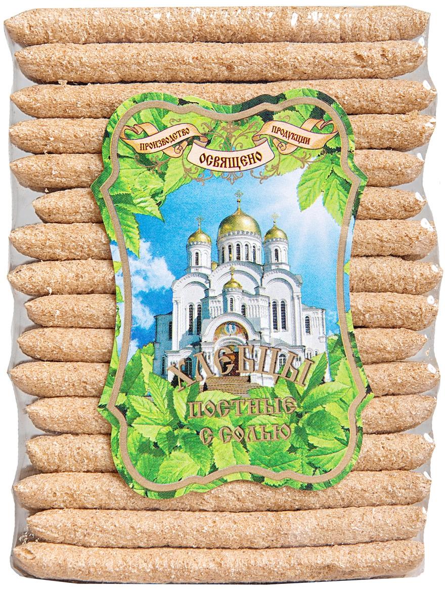 Хлебцы с солью ХРУСтёпка Постные, 80 г