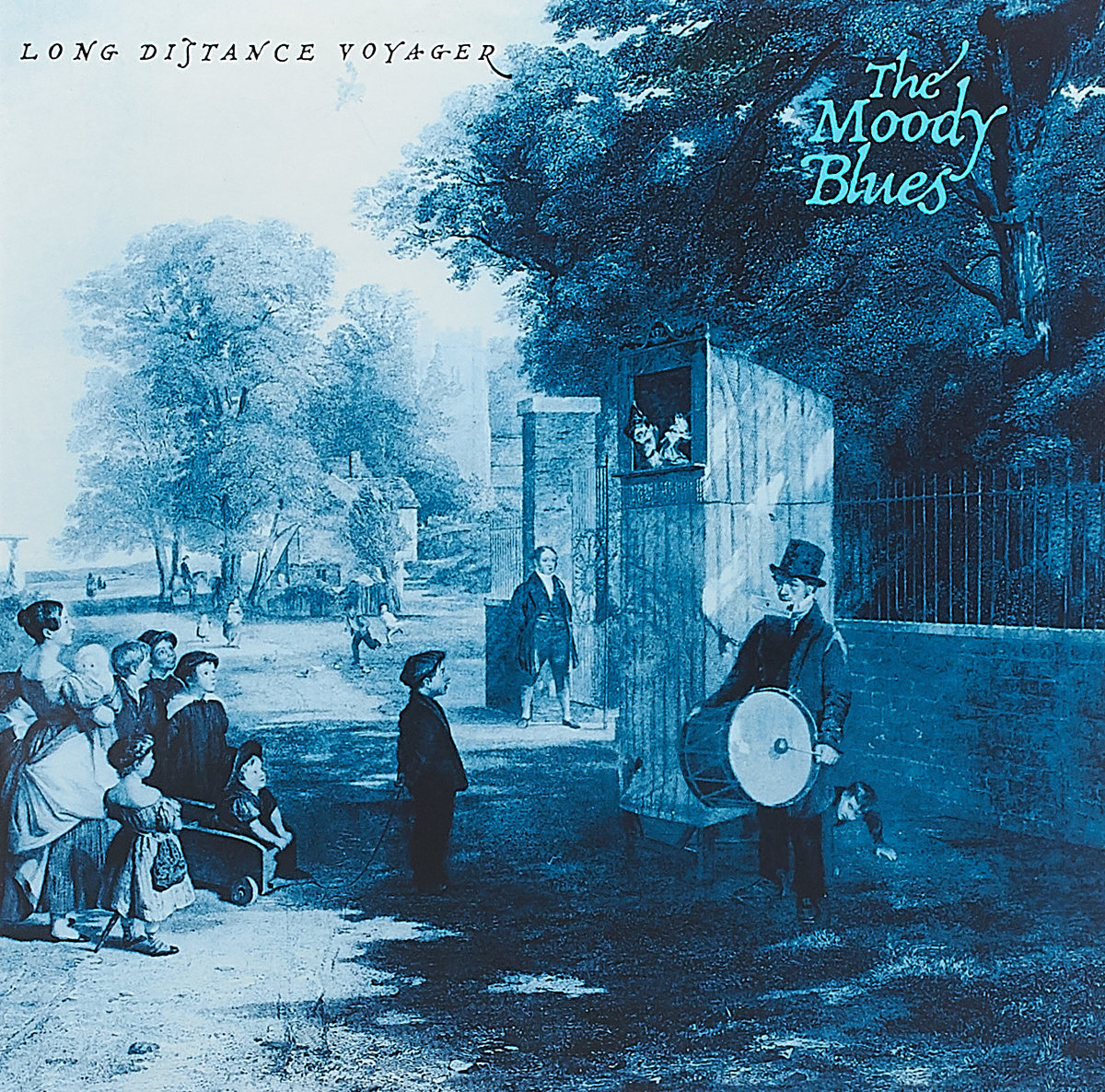 The Moody Blues The Moody Blues Long Distance Voyager LP