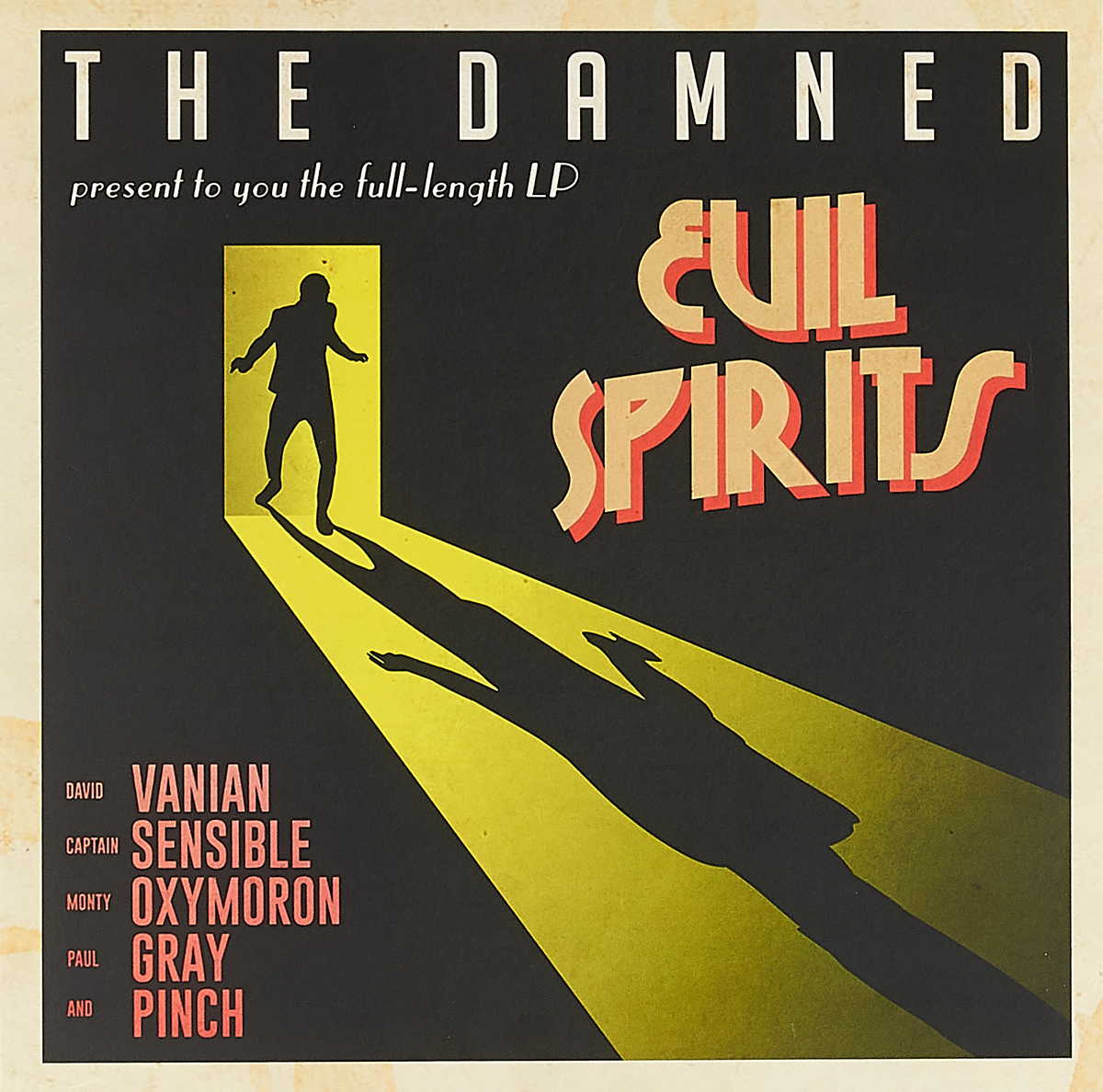 The Damned The Damned. Evil Spirits (LP) dream evil dream evil the book of heavy metal lp cd