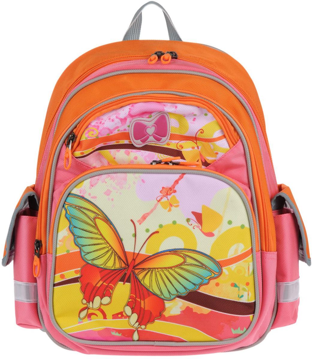 """Ранец школьный """"Alliance"""", цвет: оранжевый. 5-852-1660СМ"""