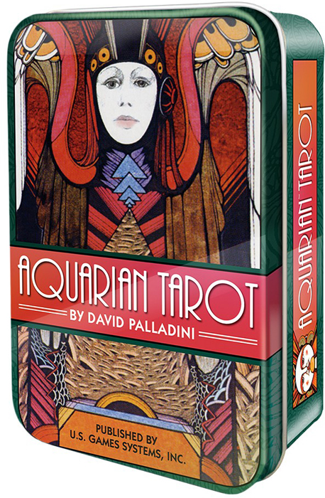 Карты Таро U.S. Games Systems Aquarian Tarot карты таро u s games systems tarot cards african