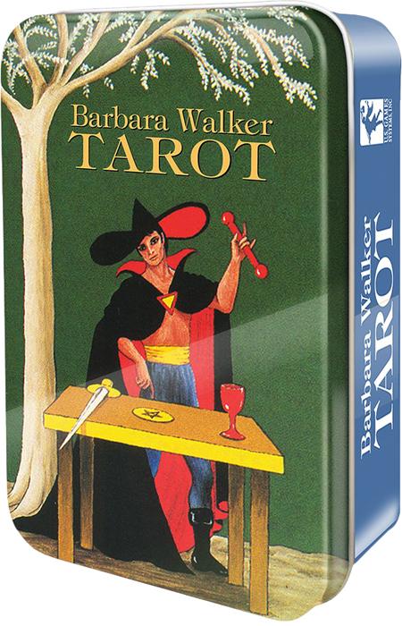 Фото - Карты Таро U.S. Games Systems Barbara Walker Tarot in a Tin карты таро u s games systems chinese tarot
