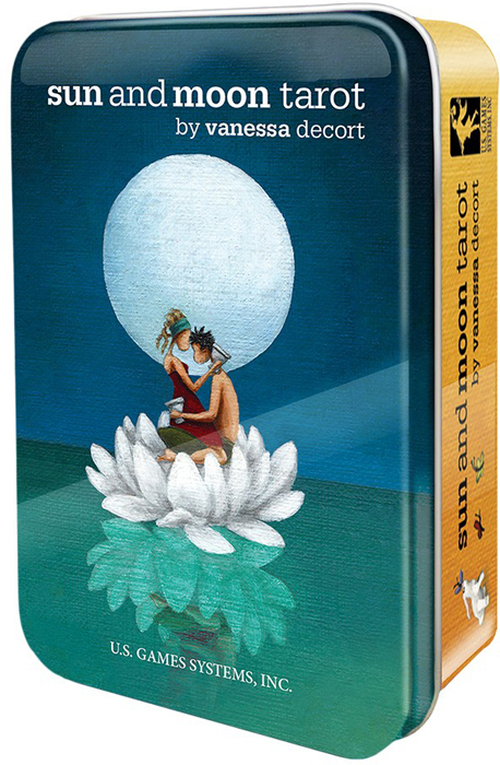 Фото - Карты Таро U.S. Games Systems Sun and Moon Tarot in a Tin карты таро u s games systems chinese tarot