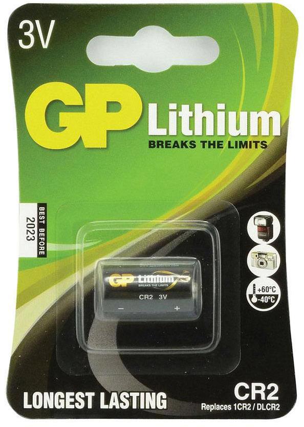 Батарейка литиевая GP Batteries, тип CR2 (CR16270), 3В, 1 шт компьютер моноблок lenovo ideacentre 520 24icb f0dj002brk