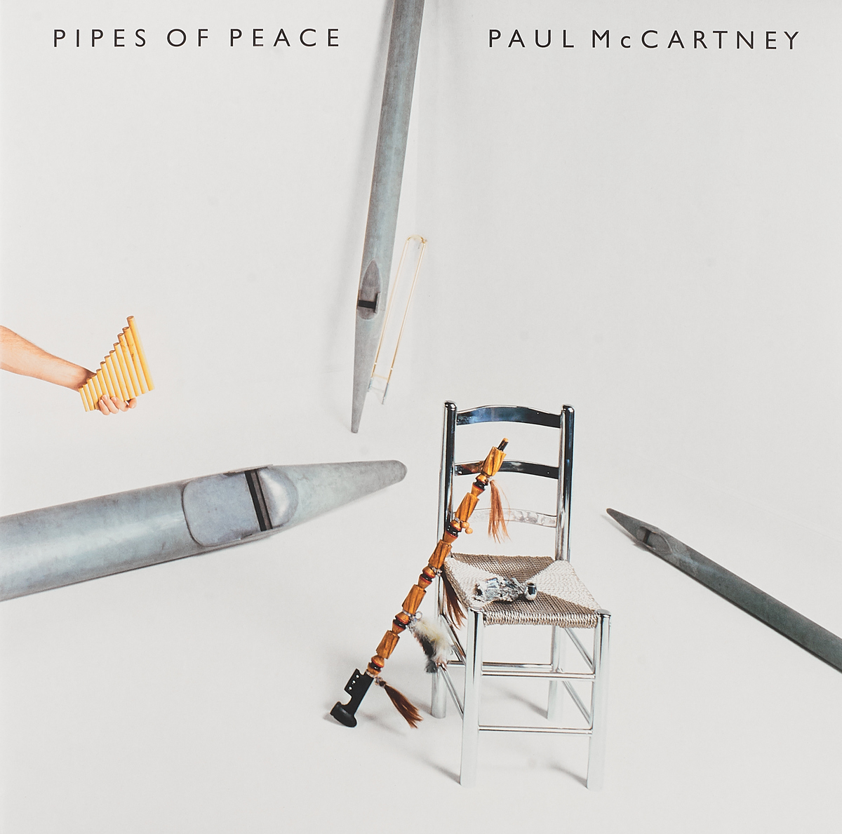 Пол Маккартни Paul McCartney. Pipes Of Peace (Coloured) (LP)