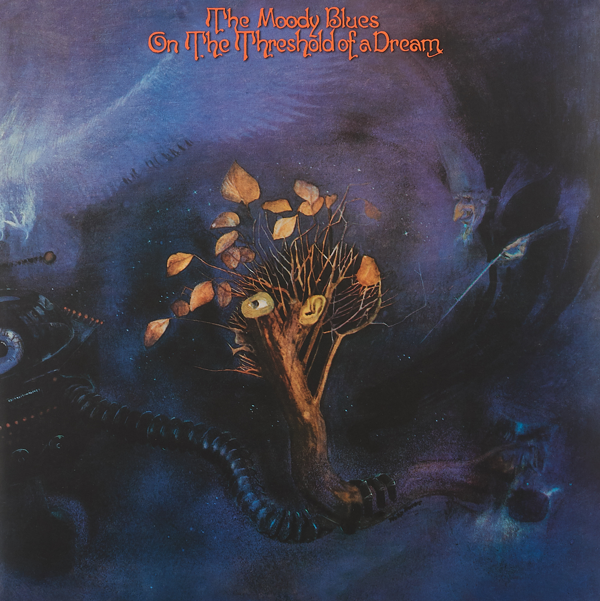 The Moody Blues The Moody Blues On The Threshold Of A Dream LP