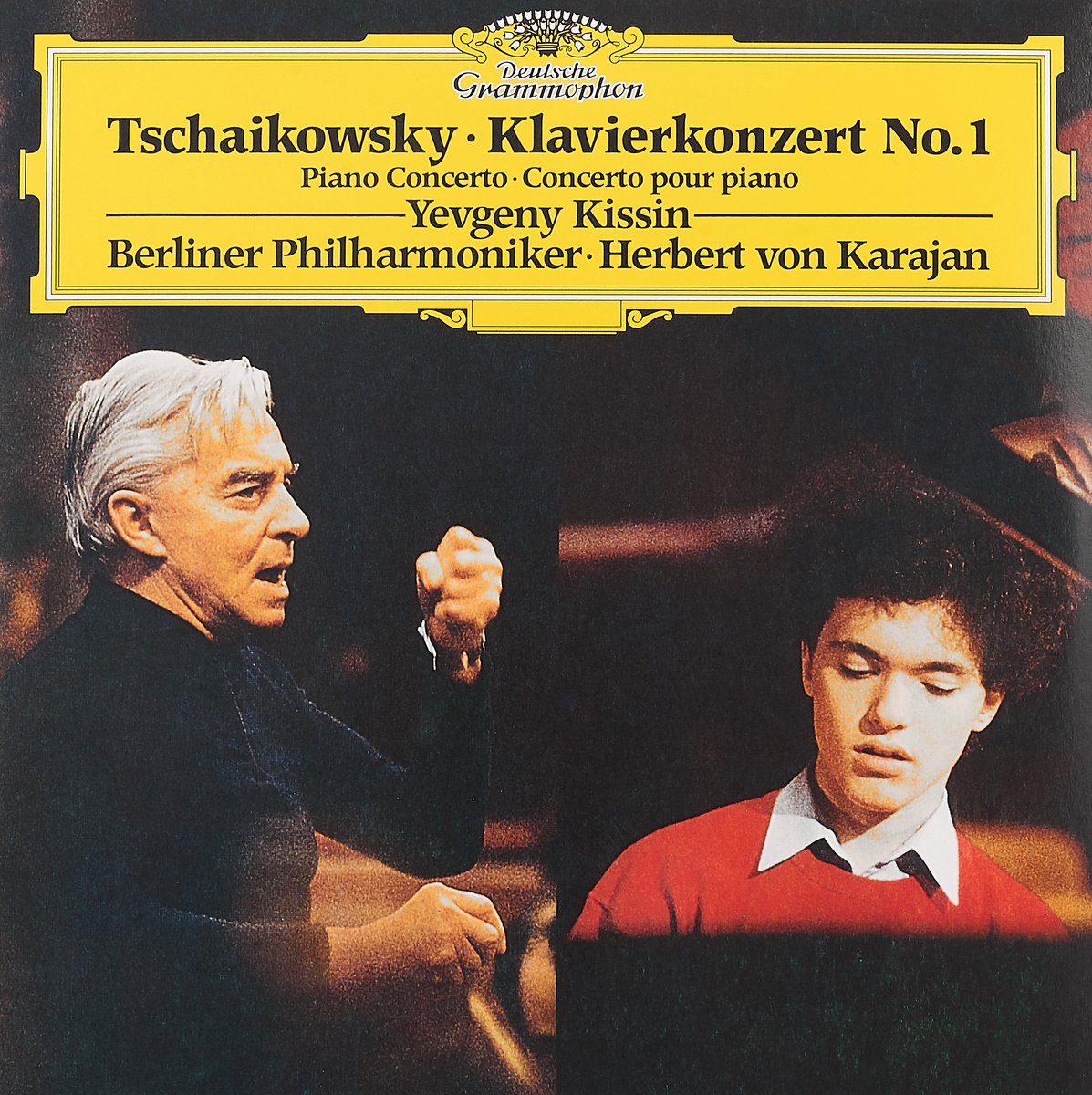 Герберт Караян Herbert Von Karajan. Tchaikovsky. Piano Concerto No.1/ Scriabin. Four Pieces (LP) цена и фото