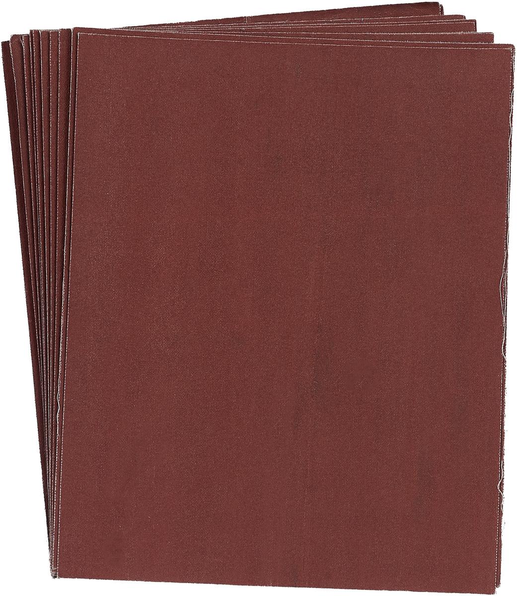 Бумага наждачная на тканевой основе Fir, 23 х 28 см, 10 шт, Р180 бумага наждачная fit 11 5 х 5 м р150