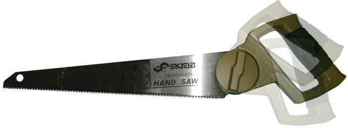 Ножовка по дереву Skrab, с меняющимся углом ножовка skrab 28028