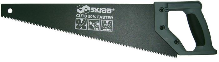 Ножовка по дереву Skrab, тройная заточка, 400 мм ножовка skrab 28028