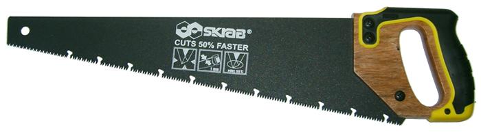 Ножовка по сырой древесине Skrab, 450 мм кисть skrab 44955