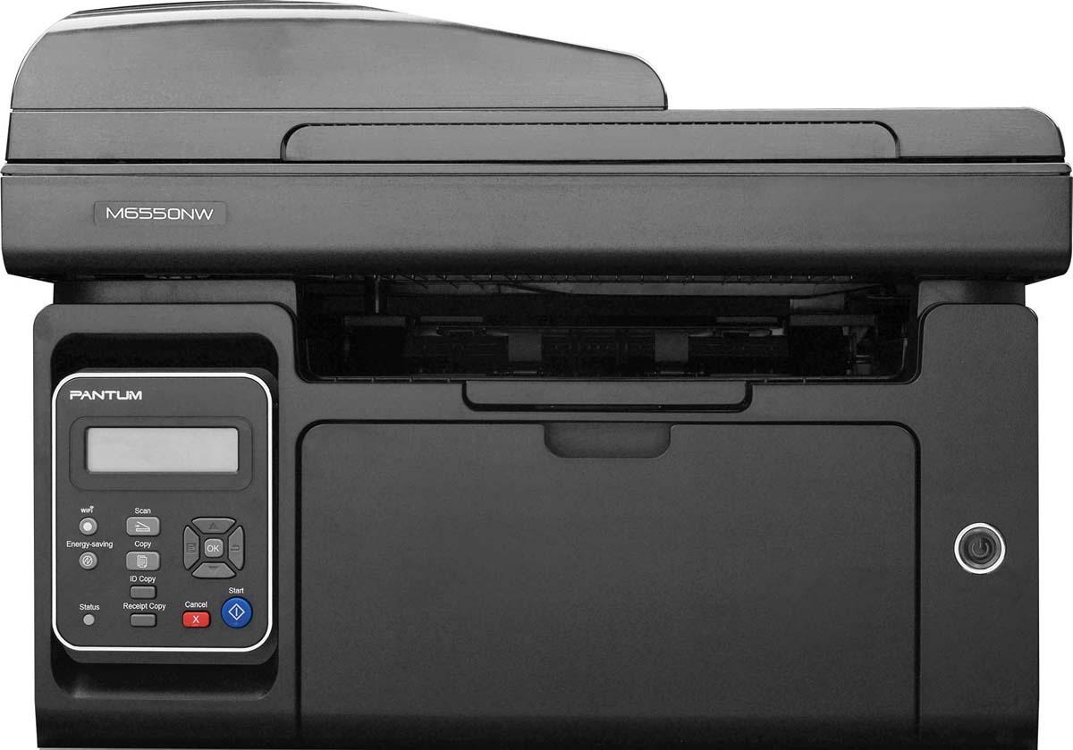 Pantum M6550NW, Black МФУ лазерное мфу lexmark cx410e цветное а4 30ppm с автоподатчиком lan