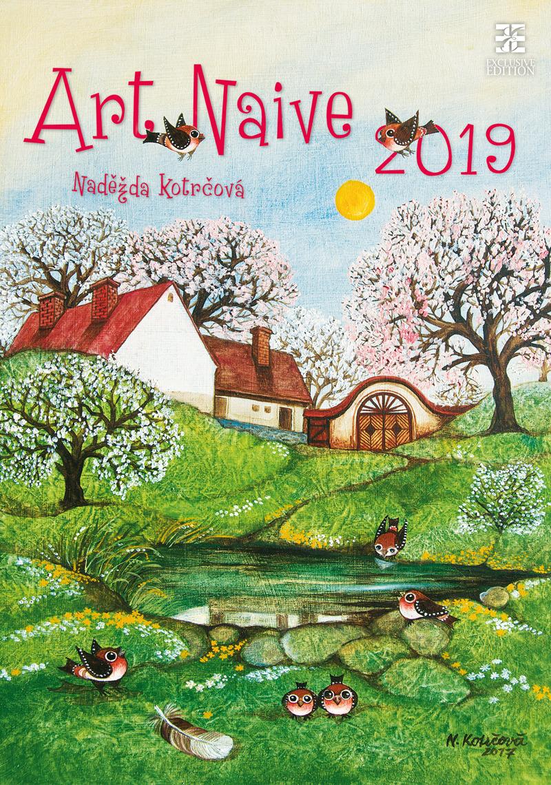 Календарь 2019. Art Naive / Наивное искусство