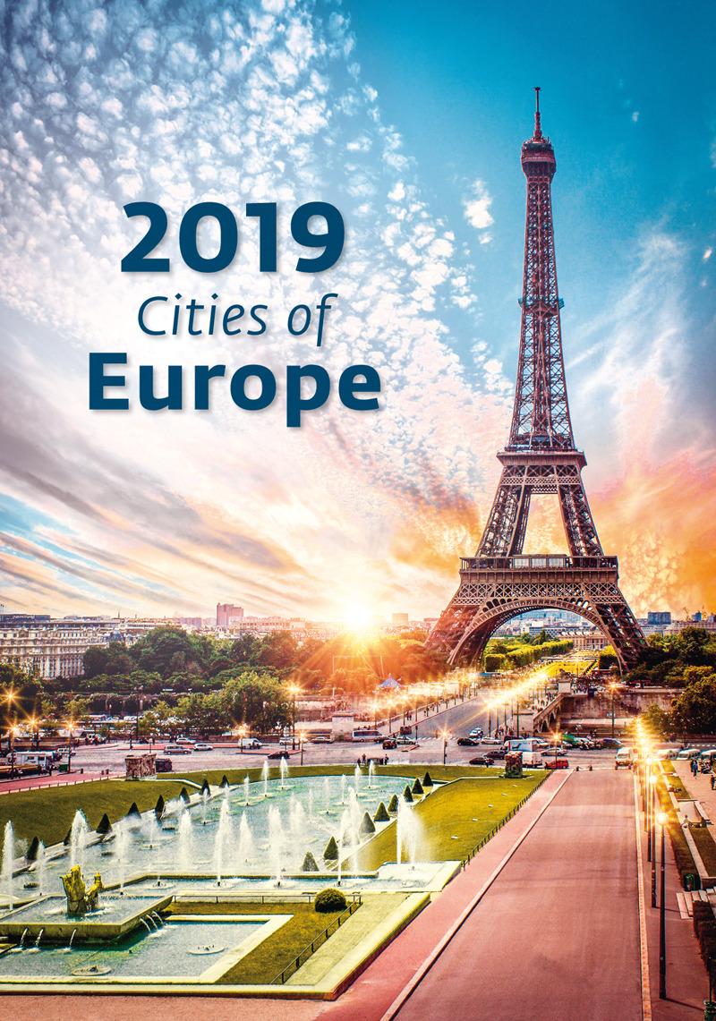 Календарь 2019. Cities of Europe / Города Европы