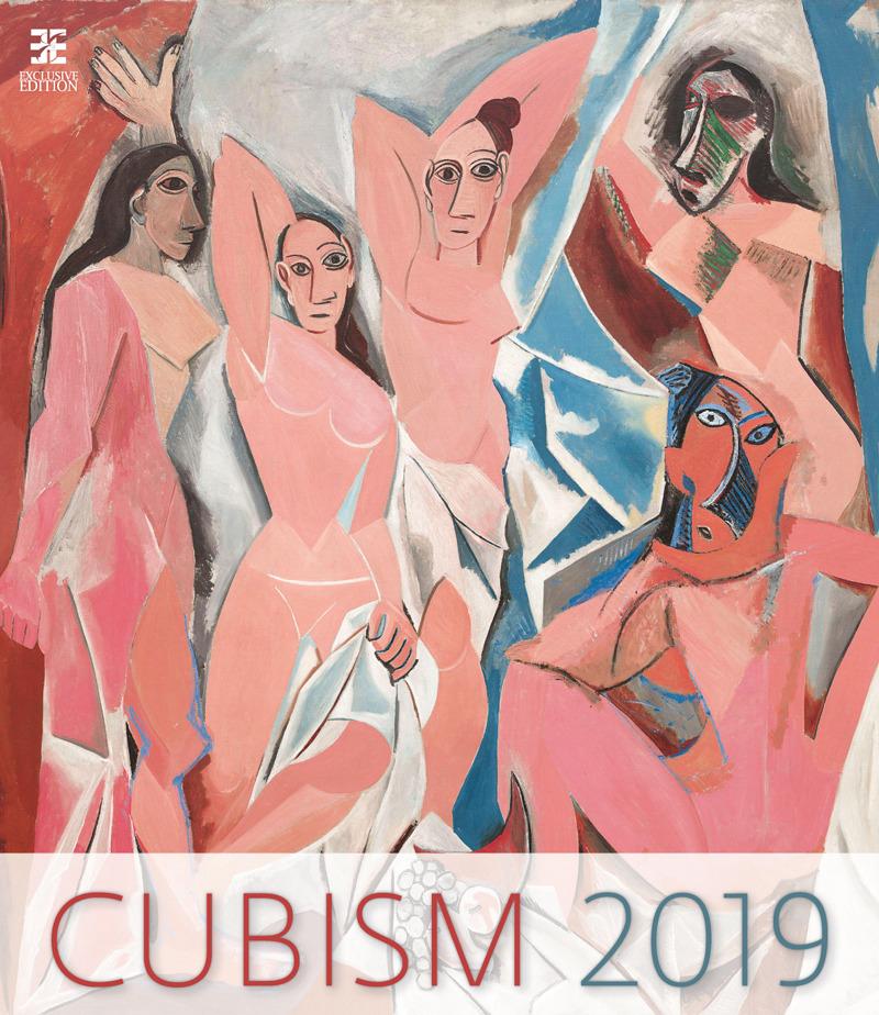 Календарь 2019. Cubism / Кубизм