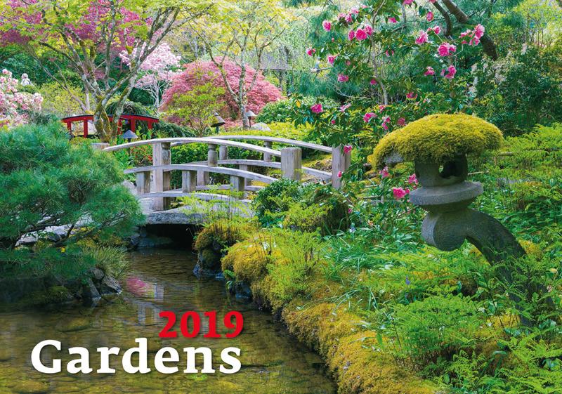 Календарь 2019. Gardens / Сады