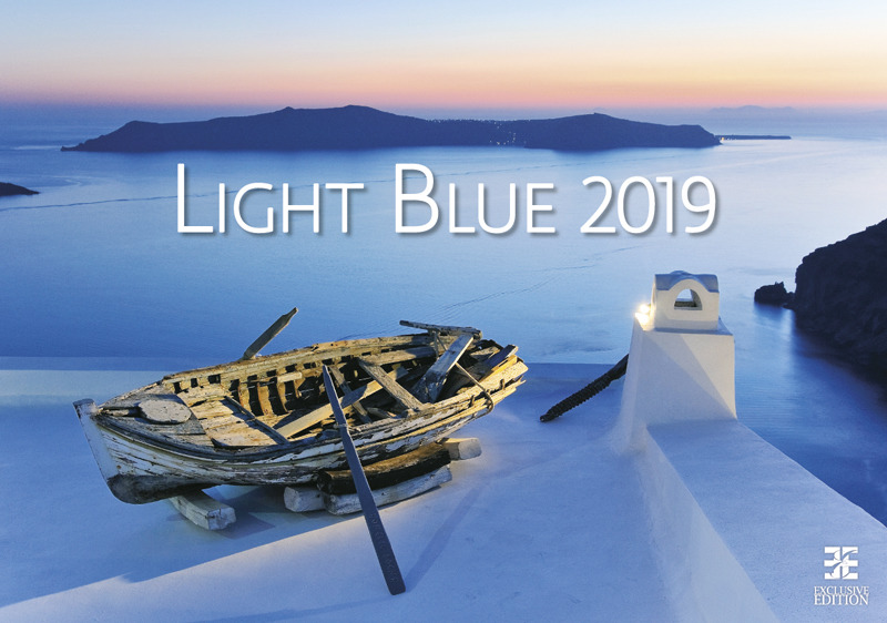 Календарь 2019. Light Blue / Голубой