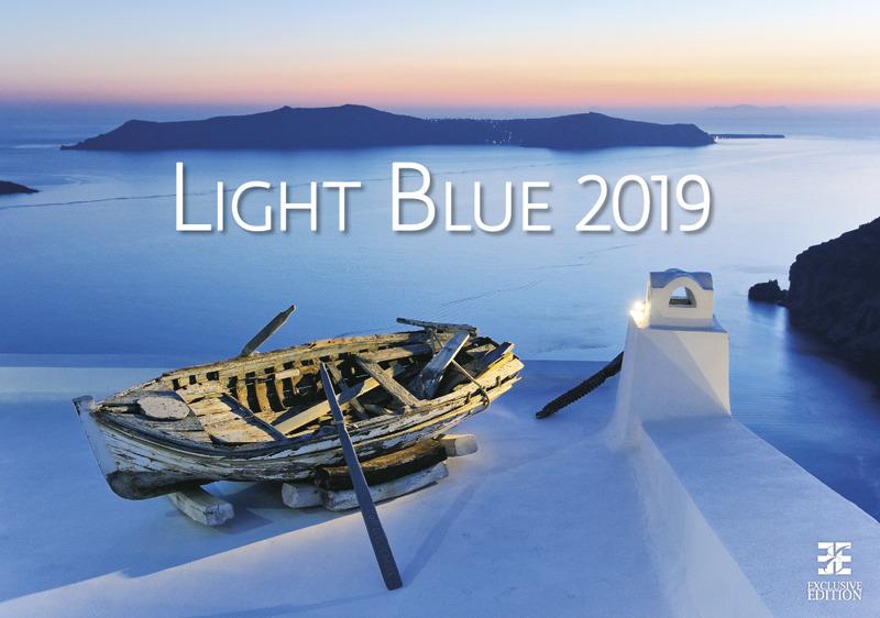 Календарь 2019. Light Blue / Голубой