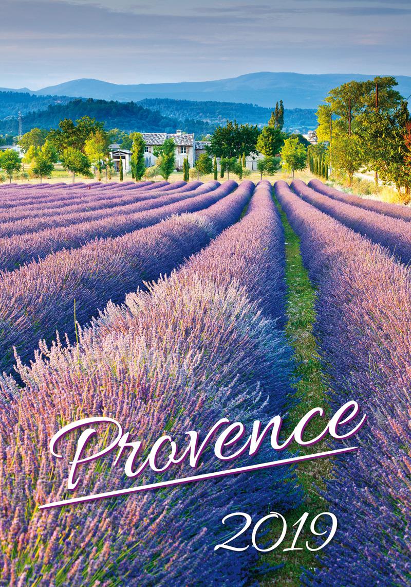 Календарь 2019 (на спирали). Provence