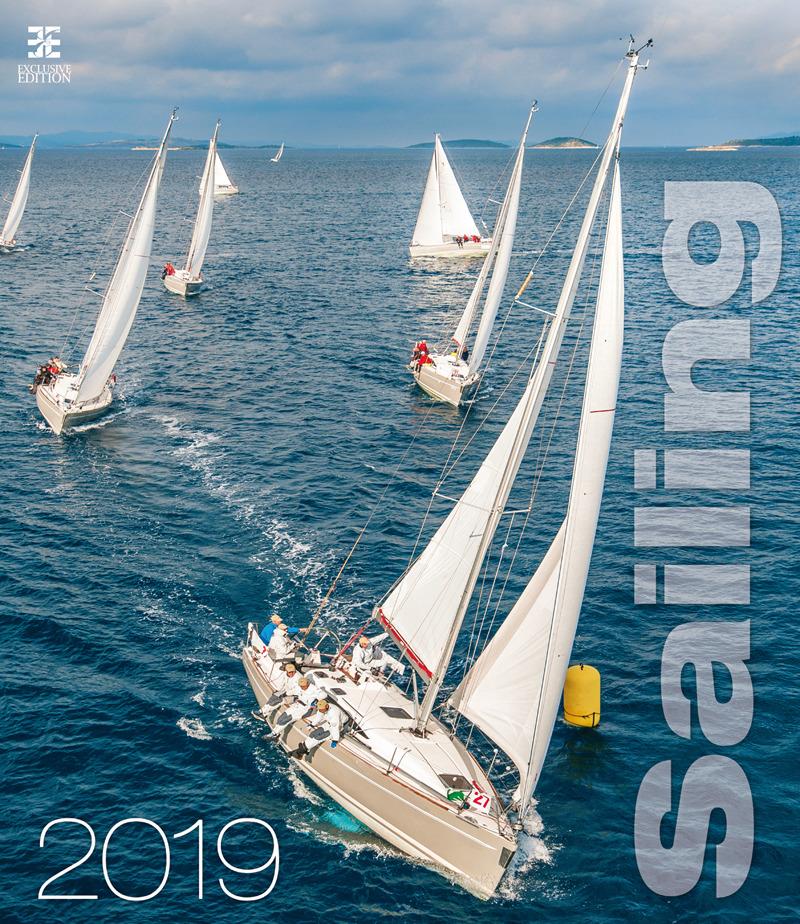 Календарь 2019 (на спирали). Sailing