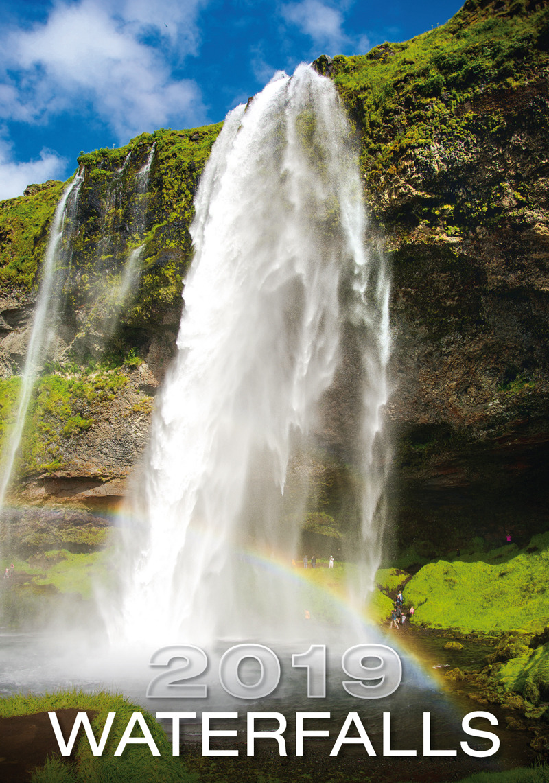 Календарь 2019 (на спирали). Waterfalls