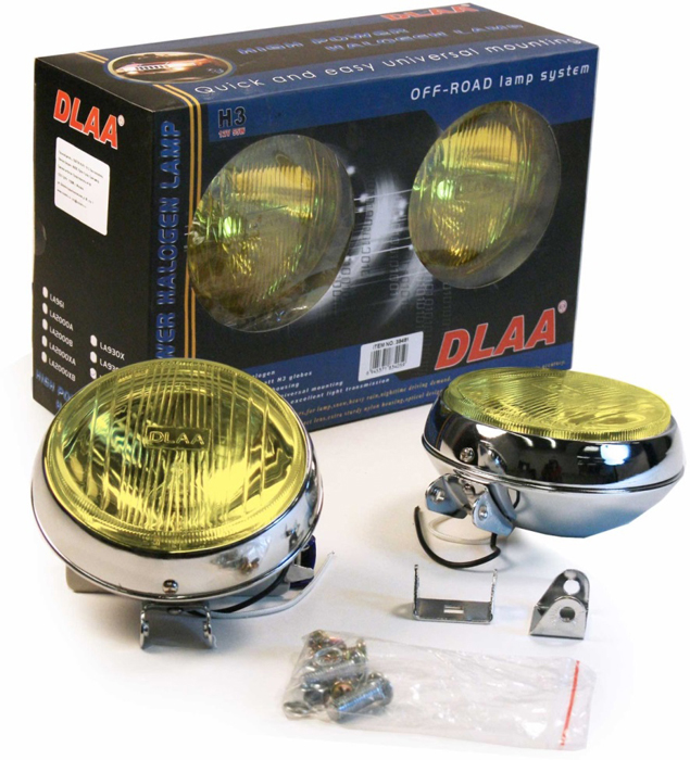 Фара противотуманная Dlaa LA-930EX Y оптика dlaa