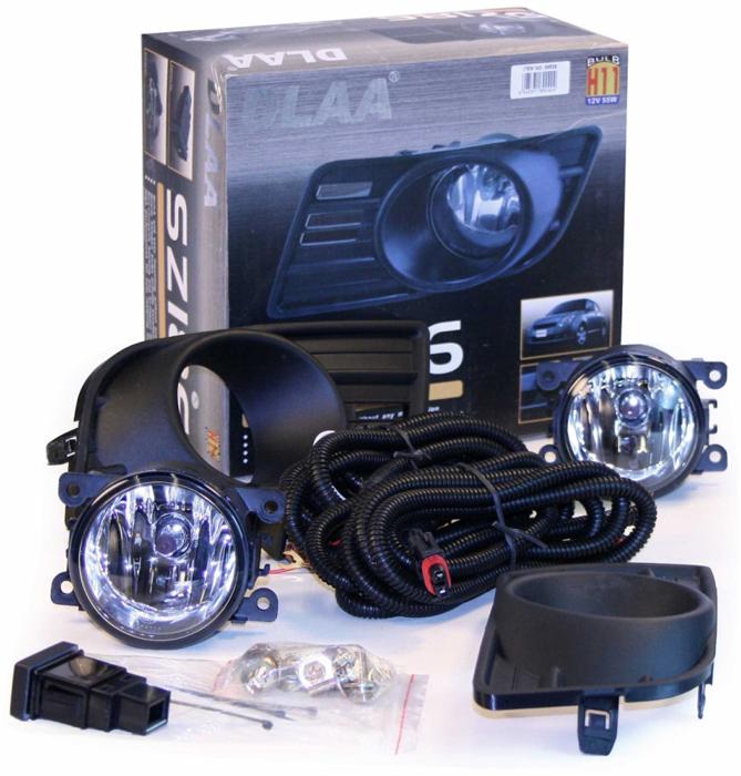 Фара противотуманная Dlaa SZ-186 W, Suzuki SWift 2007-, H11, 12 V, 55 W оптика dlaa