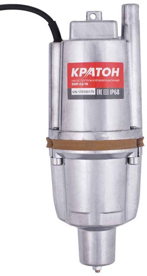 Насос погружной Кратон SWP-02/16, вибрационный насос погружной вибрационный кратон swp 01